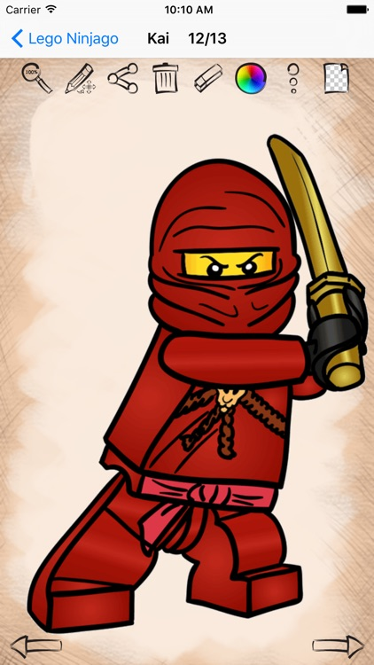 Learn How to Draw Lego Ninjago Edition screenshot-4