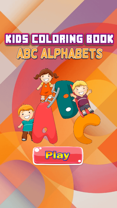 ABC Coloring Book - Alphabets Drawing Pages and Painting Educational Learning skill Games For Kid & Toddler screenshot one