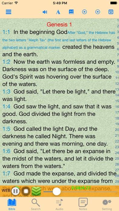 World English Bible  WEB Audio Holy Scriptures