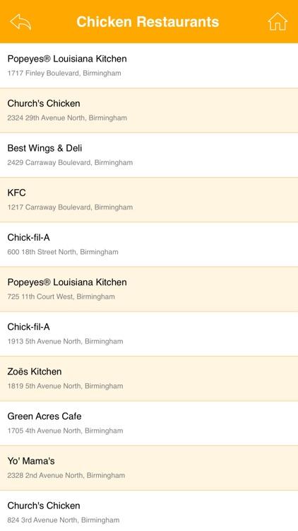 Great App for Popeyes Chicken Restaurants screenshot-4