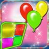 Color Balloons Memory Match Flash Cards Game