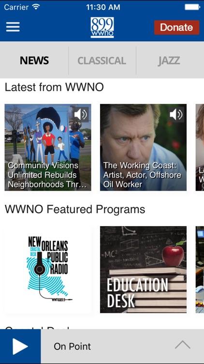 WWNO Public Radio App