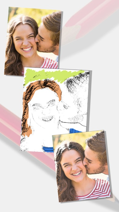 Sketch Photo Effect editor to color your images - Premium screenshot one