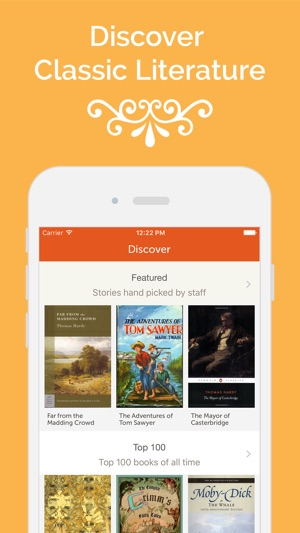 Gutenberg - Download unlimited bestsellers on the App Store