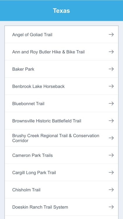Texas National Recreation Trails