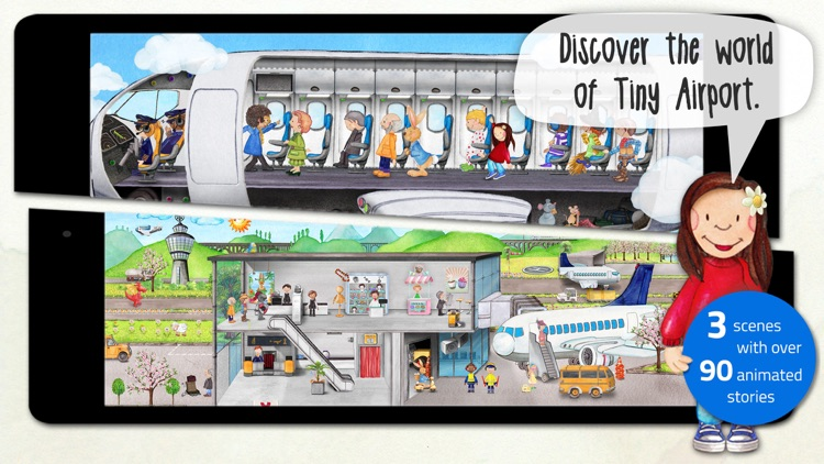 Tiny Airport: Toddler's App screenshot-0