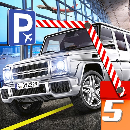 Multi Level Car Parking 5 a Real Airport Driving Test Simulator