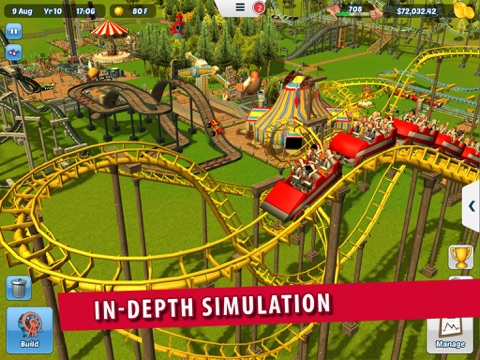 Screenshot #3 for RollerCoaster Tycoon® 3