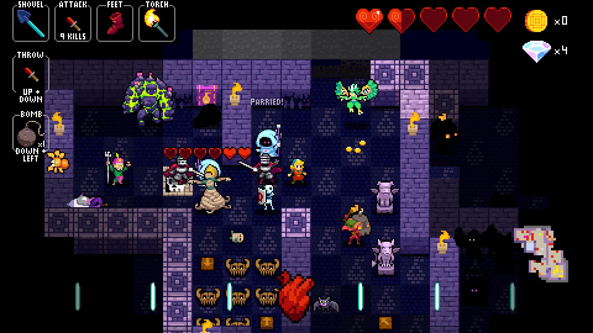 Crypt of the NecroDancer screenshot 14