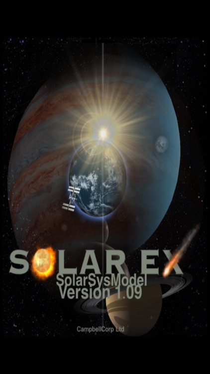 solarSysModel - 3D Solar System Model - Educational Representation of Moons, Planets, Spacecraft, and Asteroids screenshot-0