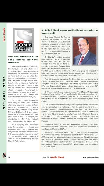 Cable Quest Magazine screenshot-3