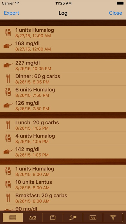LogFrog DB - A Leap in Diabetes Management screenshot-3