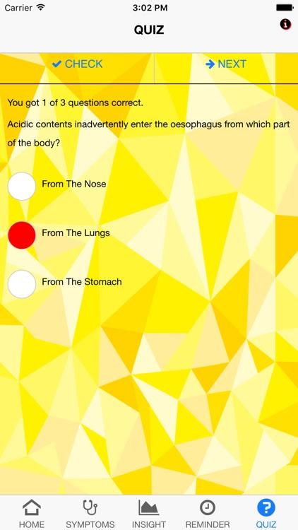 Signs & Symptoms GERD screenshot-4