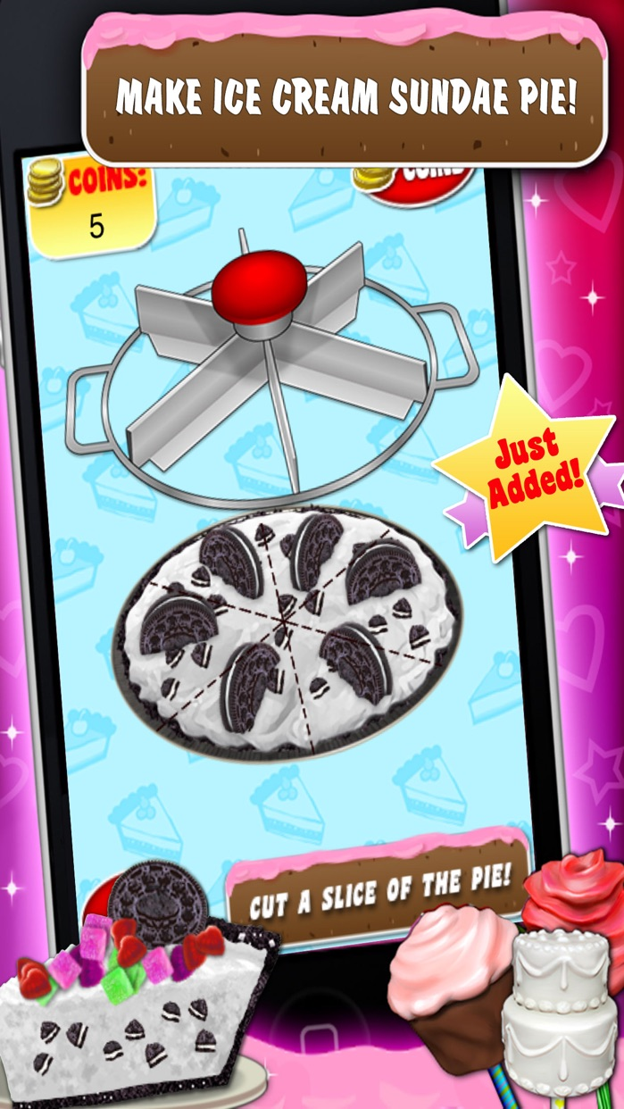 Sweet Dessert Maker Games Screenshot