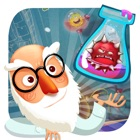 Crazy Doctor VS Weird Virus Free - A cool matching link puzzle game icon