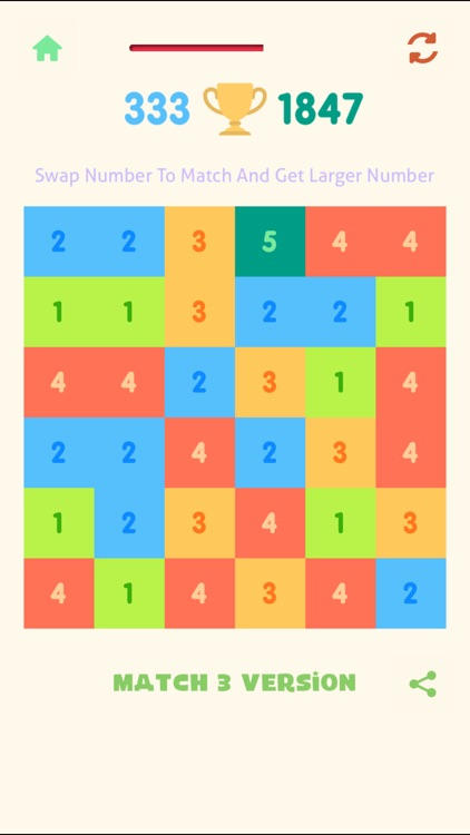 Just Match 3 - Get 10 Numbers Puzzle screenshot-4