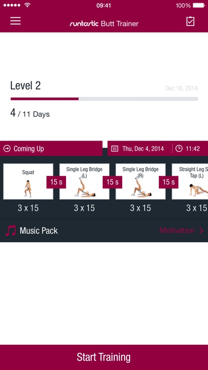 Runtastic Butt Trainer screenshot-4