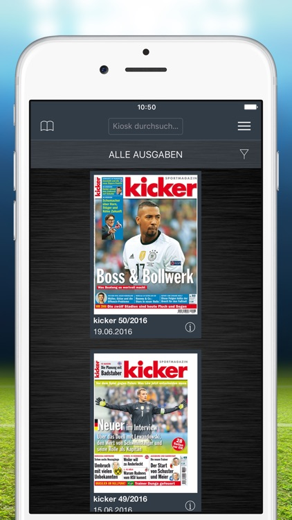 kicker eMagazine screenshot-0