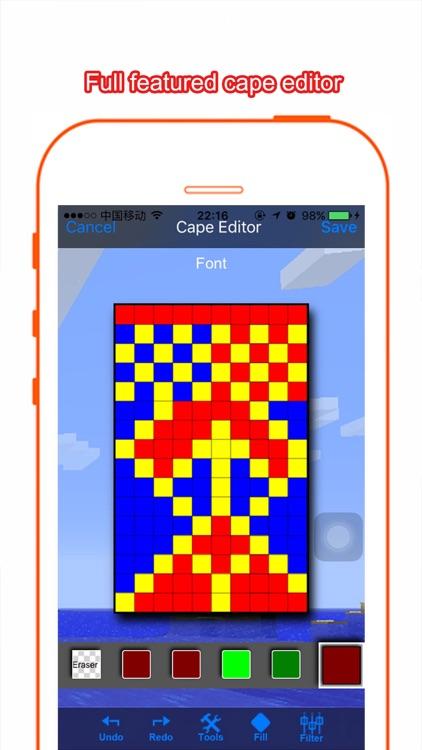 Cape Design for Minecraft PC screenshot-3