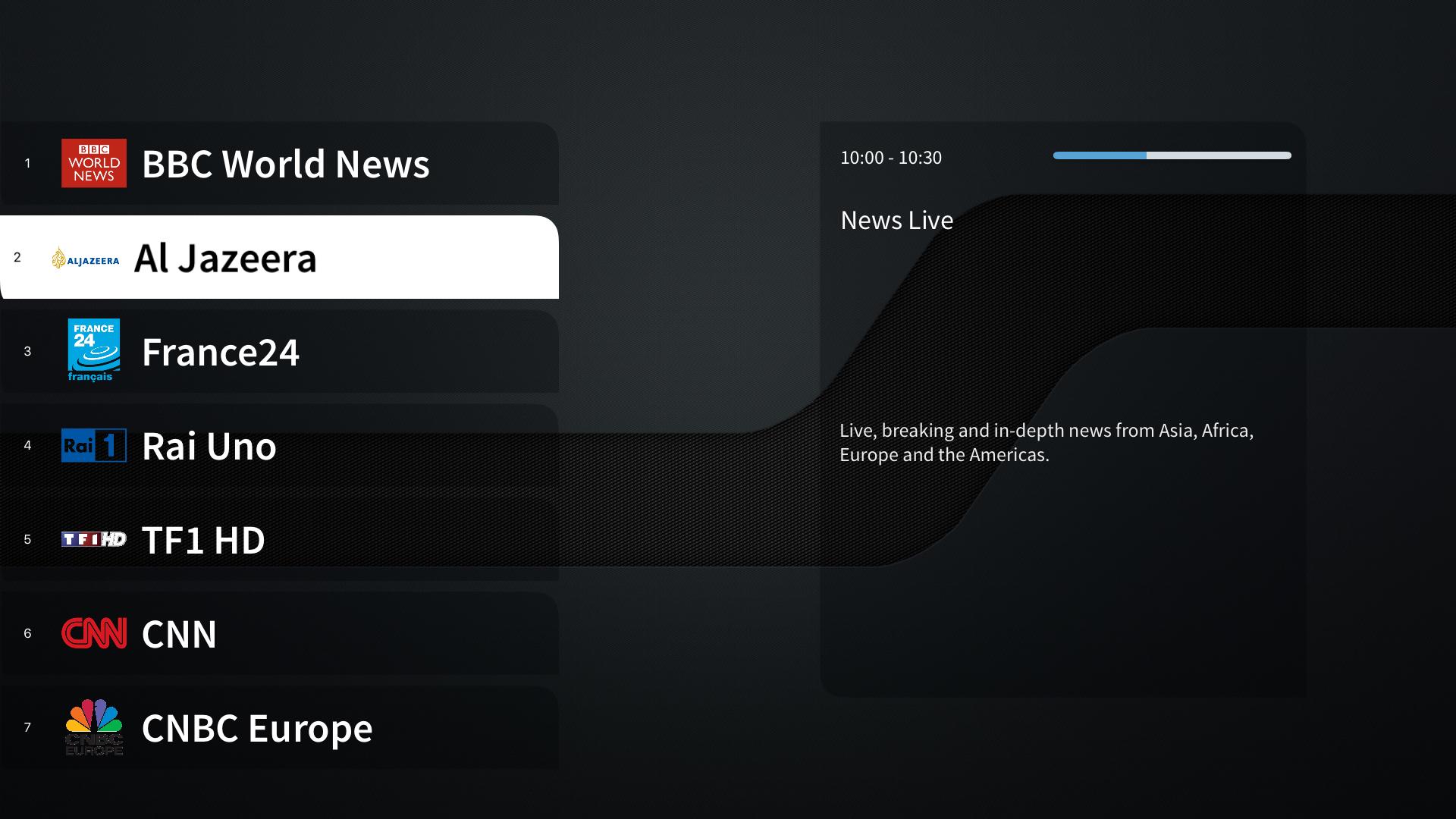 IPTV Streamer 4K screenshot 1