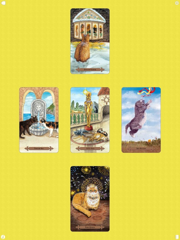 Mystical Cats Tarot-ipad-4