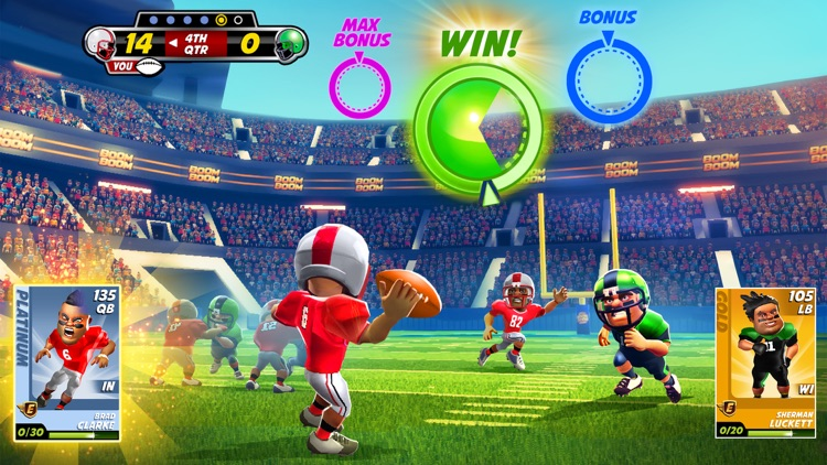 Boom Boom Football screenshot-1