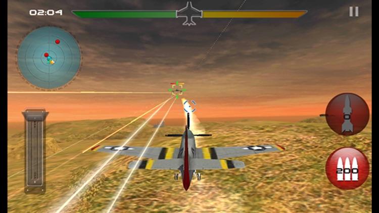 Modern  War Plane Combat Air Attack - 3D Fighter Airplanes Flight Simulator screenshot-3