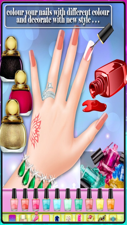 Wedding nail art salon - Nail design for girls