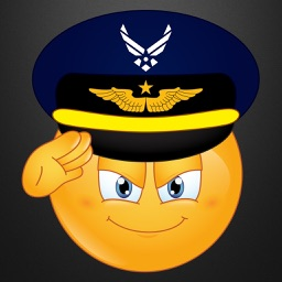 Air Force Emojis Keyboard Memorial Day Edition by Emoji World