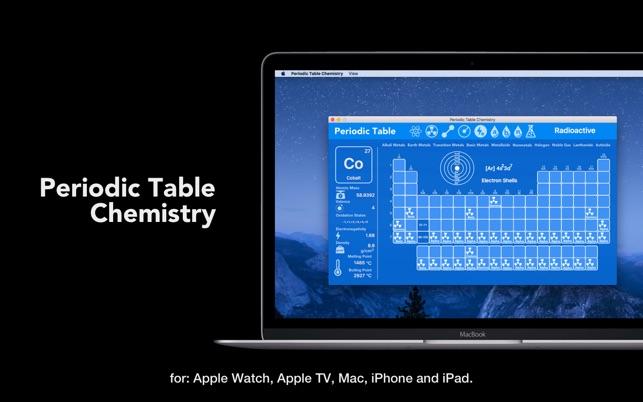 Periodic table chemistry on the mac app store screenshots urtaz Gallery
