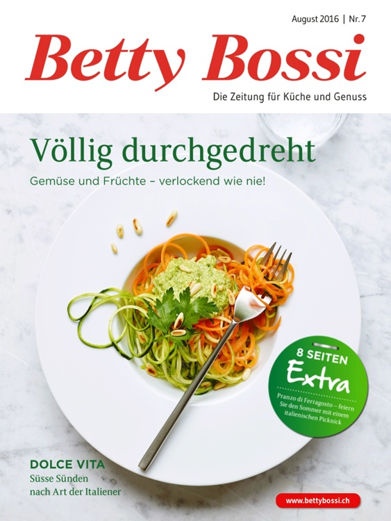 Betty Bossi Zeitung screenshot-0