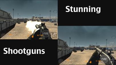 Real Trigger FPS Weapons Shooting Test : Desert Range Mission Game screenshot four