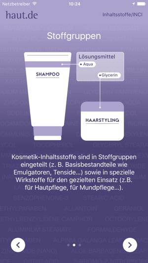 Inci Inhaltsstoffe In Kosmetik Im App Store