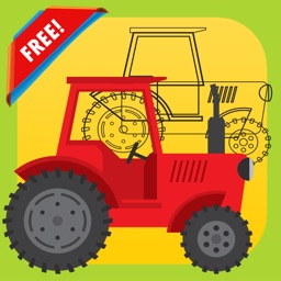 Kids Vehicle Dot to Dot Coloring Book - connect dots coloring pages learning games for any age