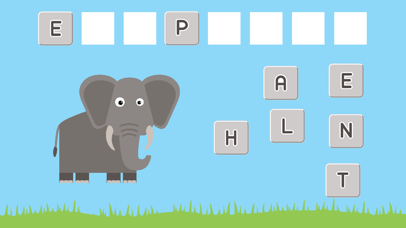 My First Words Animal - Easy English Spelling App for Kids