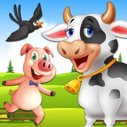 Learn Farm Animals For Kids - Animals Farm For Kids!