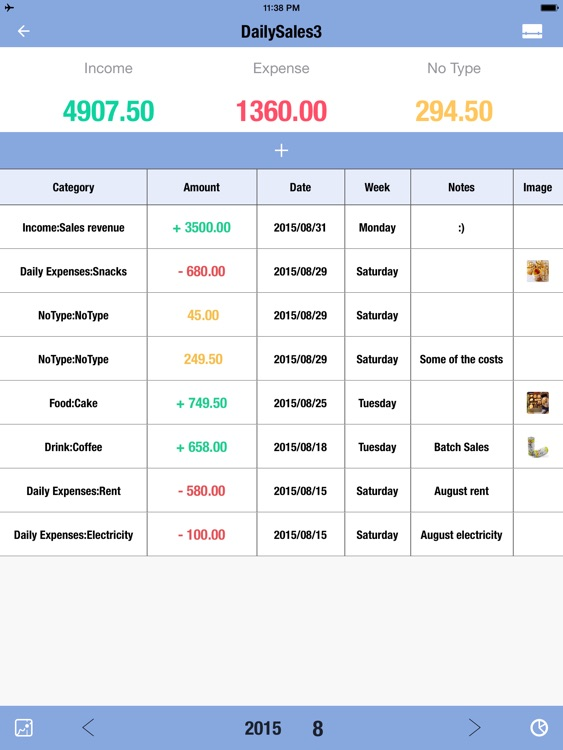 Daily Sales Tracker 3 HD-Inventory Tracker,Manager screenshot-3
