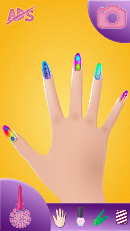 Nail Art Design – Manicure Make-over in a Trendy Beauty Salon for Girl.s screenshot-3