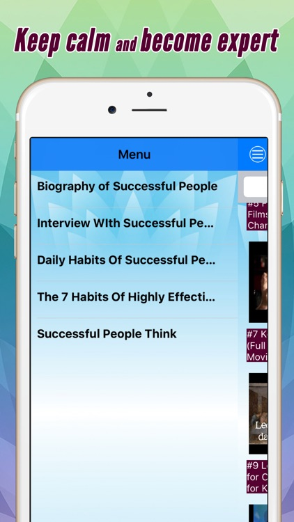 Successful people: Biography, habit and more by videos Pro screenshot-2