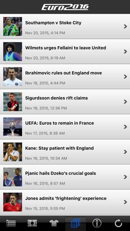 LiveScore Euro 2016 screenshot-4