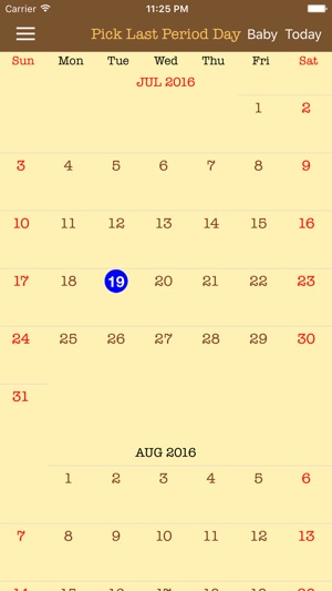 pregnancy calendar due date day by day