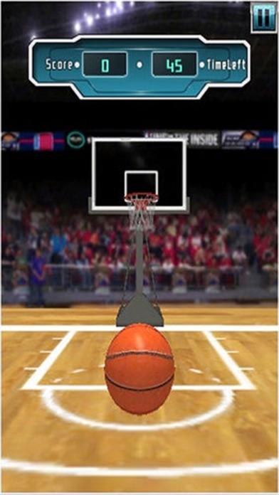 バスケットボールフープ無料バスケットボールゲーム、バスケットボールのシューティングゲームのおすすめ画像1