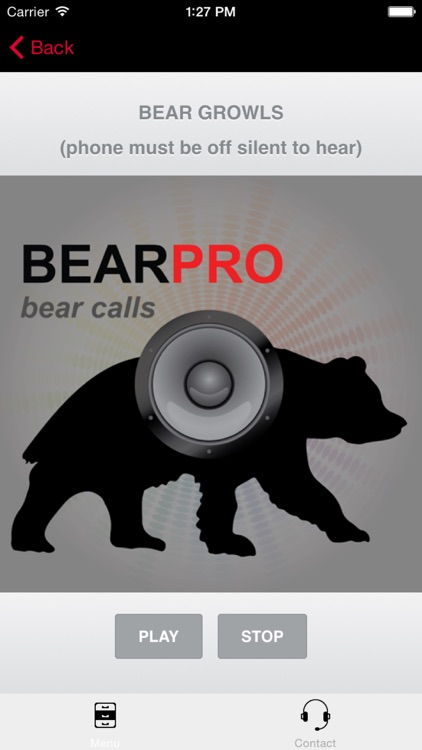 REAL Bear Calls and Bear Sounds for Big Game Hunting + BLUETOOTH COMPATIBLE screenshot-0