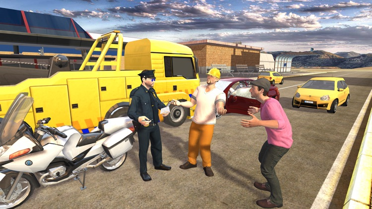 Extreme Traffic Police Bike - Ride Motorcycle & Chase Criminals in City screenshot-3