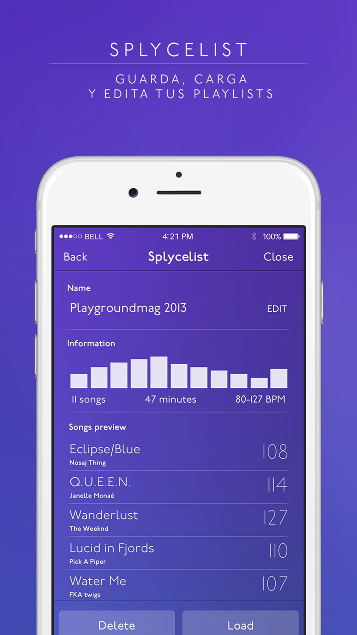 Splyce - automix con efectos Screenshot