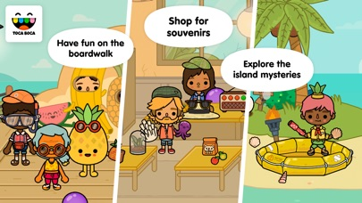 Toca Life: Vacation Screenshots