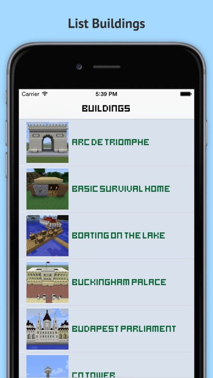MineGuide Amazing Building Ideas - Free house and building guide for Minecraft Pocket Edition!
