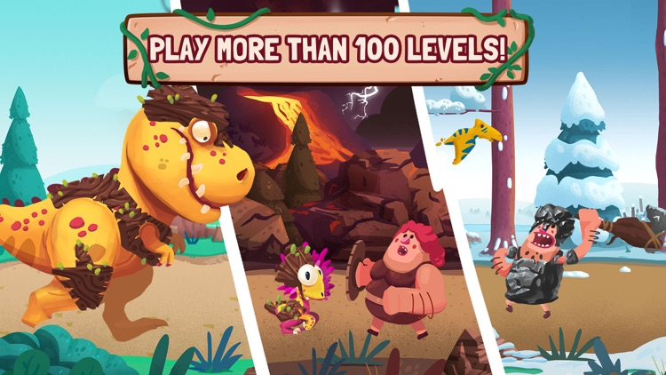 Dino Bash - Defend & Fight screenshot-3