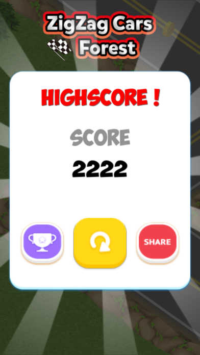 ZigZag Cars : Forest screenshot four