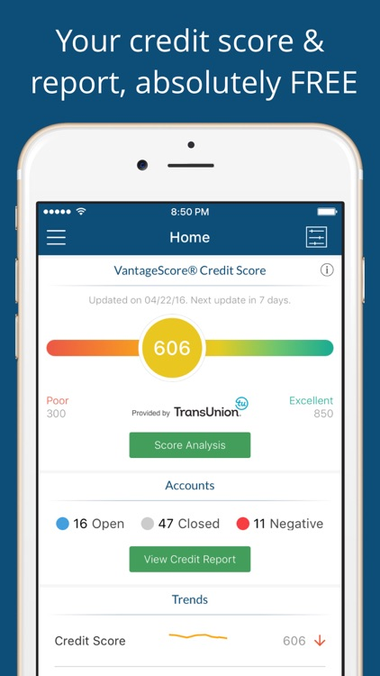 Score & Report – Credit Reporting and Monitoring